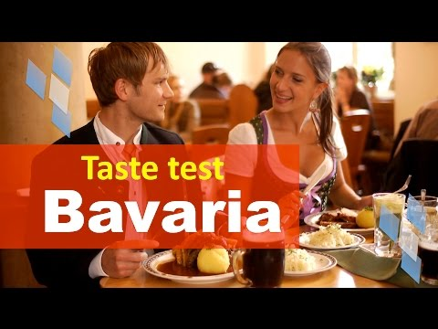 Bavarian Food taste test - German Food - Documentary film