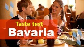 Bavarian Food taste test - German Food - Documentary film