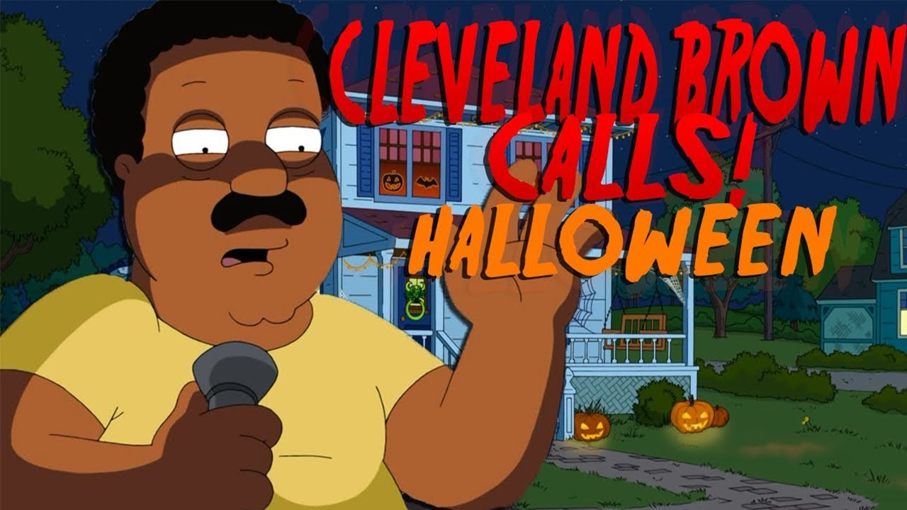 Cleveland Brown Halloween Prank Call!