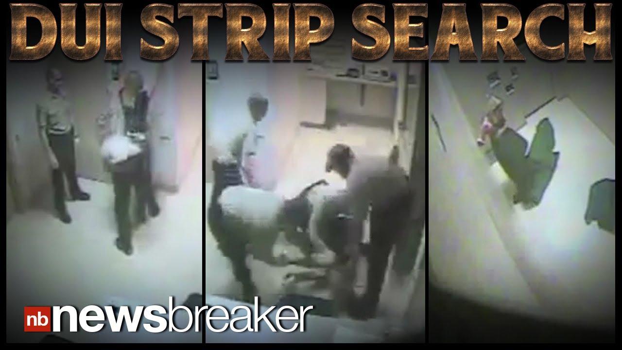 Man sues strip search