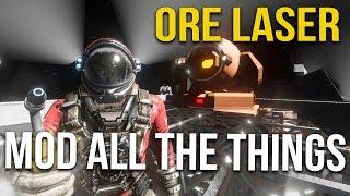 Space Engineers -  Ore Mining Laser Online #42