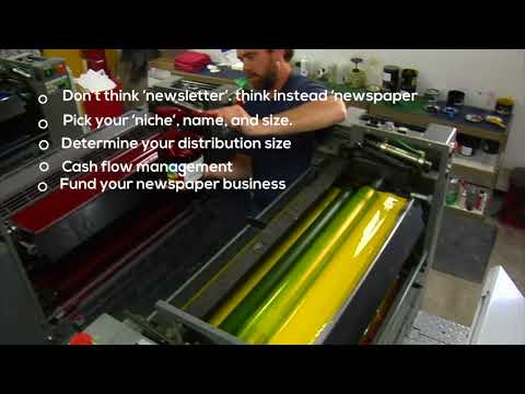 Tips to start newspaper business at Sydney
