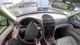 Mercedes-Benz E320 W211 (2002) - POV Drive