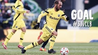 GOAL: Frederico Huguain buries the opener | San Jose Earthquakes vs Columbus Crew