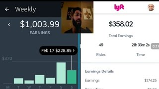 $1362 Uber & Lyft Earnings: Plus More Strategies