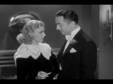 Ginger Rogers and William Powell in Star of Midnight