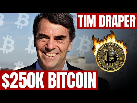 Tim Draper Says His $250K Bitcoin Price Prediction Is Not Based On Halving | $13K BTC In Early 2020