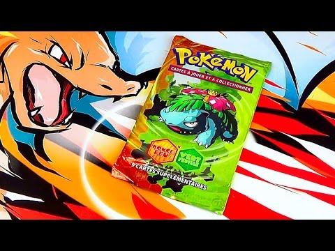 Ouverture d'un Booster Pokémon EX Rouge...