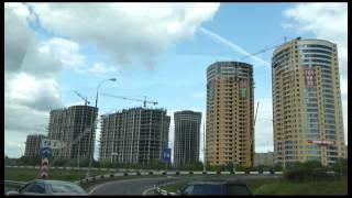 Liikenneruuhkaa Moskovan kehätiellä / Traffic jam on Moscow RIng Road.