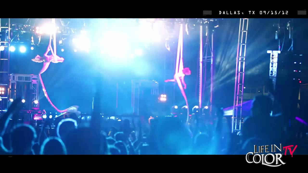 Life In Color Live Clip - Dallas, TX - E.N.D Tour - 09/15/12