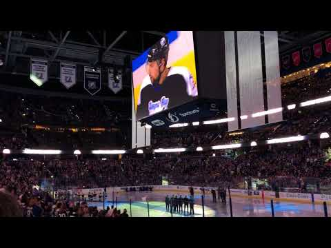 Tampa Bay Lightning Honors The 2004 Stanley Cup Champions