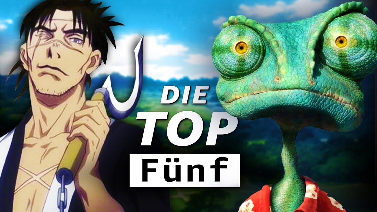 Die besten Animationsfilme und Serien