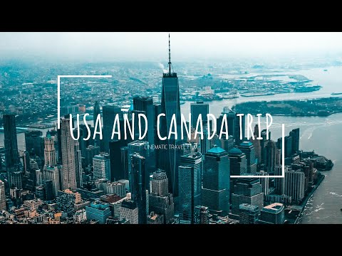 USA and CANADA | CINEMATIC TRAVEL FILM | Sony A6000