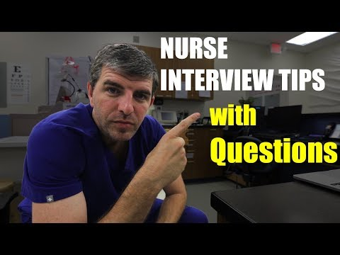 NURSING INTERVIEW Example With Questions