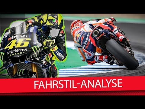 Fahrstil-Analyse mit dem Riding-Coach - MotoGP 2019 (Interview)