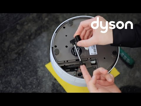 Dyson Humidifier - F2 Fault code - Replacing the Ultraviolet Cleanse lamp (UK)