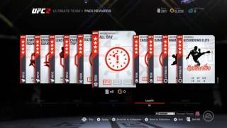 UFC 2: Ultimate Team RARE JUMBO Pack & Level 35 pack Opening - part 10