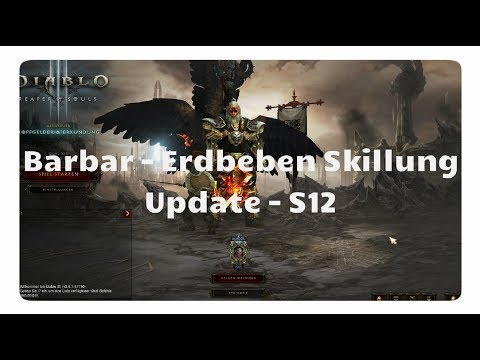 Diablo 3 - Barbar: Erdbeben Skillung (Update, Buff)