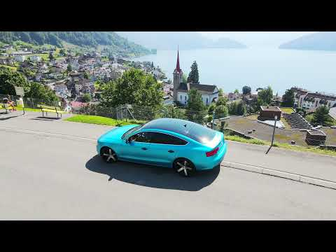 Audi A5 Sportback 3.0 TDi - Aerial Advertisement by BITS