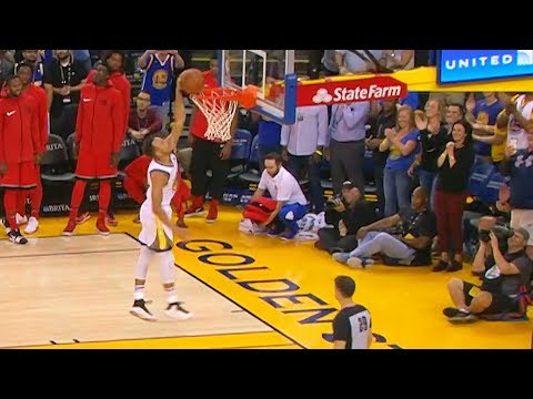 Worst Stephen Curry Dunk!!! Stephen Curry MISSES Dunk!!!