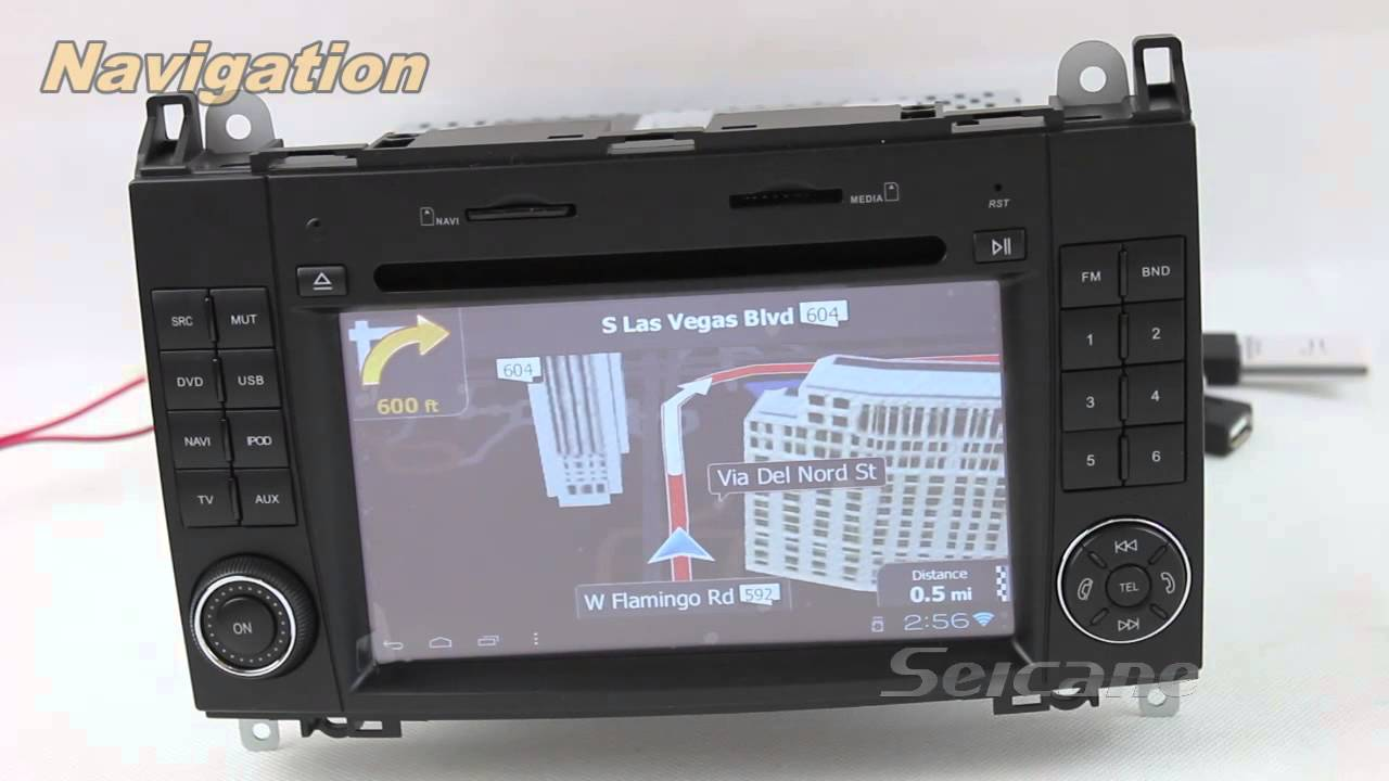 Mercedes w169 comand aps system with rearview camera tv for Mercedes benz truck radio code