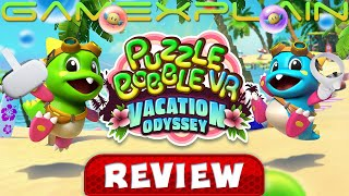 Puzzle Bobble VR: Vacation Odyssey - REVIEW (Quest) (Video Game Video Review)