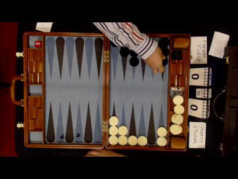 Ohio Backgammon 2017 - Farhad Forudi v Marty Storer  - Open Round 2