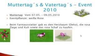 Farmerama - Mutter -und Vatertag | Event-Vergleich #12