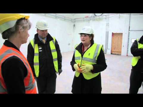 Fiona Hyslop Visit to Stirling Campus
