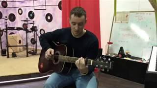 Обучение игре на гитаре за 1 день