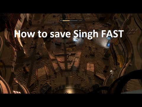 Mankind Divided - How to save Singh (Non Lethal)
