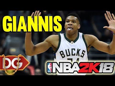 GIANNIS IS ON CHEAT CODES - NBA2k18 MyCareer CENTER GAMEPLAY #53