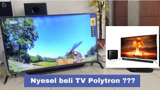 TV POLYTRON CINEMAX SOUNDBAR 43inch FULL HD PLD-43B150