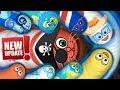 Wormate.io © Lucky Parynhar Red Worm Kill 2,499 Unlucky Blue Team - Wormateio Hack World Record ✓