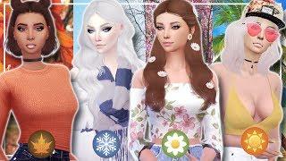 The Sims 4 | Create a Sim- Estações do Ano 🍁❄🌼🌞 (Seasons)