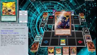 Fire King Dino OTK VS Phantom Knights