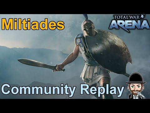 Total War Arena | Community Replay | Miltiades dominiert die Thermopylen