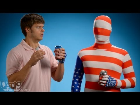 The USA Beer Mitt