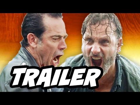 Walking Dead Season 7 Episode 9 Trailer Breakdown - March To War