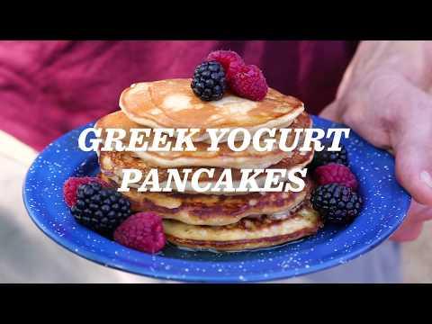 REI Camp Recipes: Greek Yogurt Pancakes