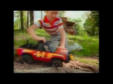Tonka Toy Trucks >> Old Tonka Truck Commercials From The 80's - YouTube