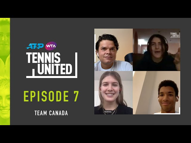 Never Have I Ever with Team Canada | Tennis United Episode 7 | Full Game