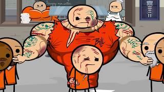 Prison   Cyanide  Happiness Shorts (Dob Español latino)