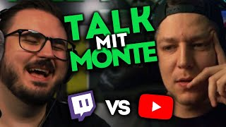 Talk mit MontanaBlack - Thema: Youtube vs Twitch