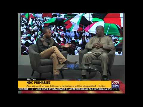 NDC Primaries - AM Talk on Joy News...