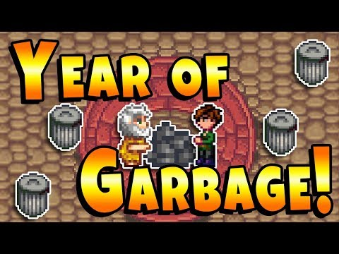 One Full Year Of Only Garbage! - Stardew Valley