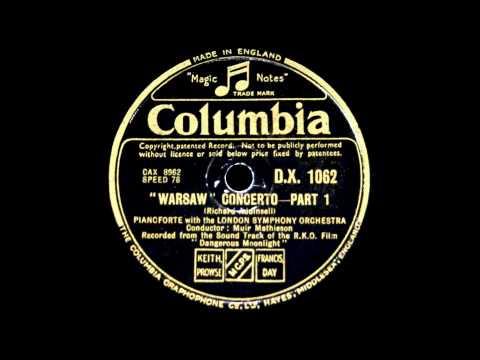 Original Film Soundtrack: Louis Kentner plays Addinsell Warsaw Concerto (1941)