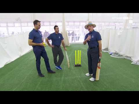 Cricket Masterclass: How to bat long in Tests with Vaughan, Ponting and Boycott