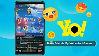 Free audio chat and games. Just only on YoYo! screenshot 2