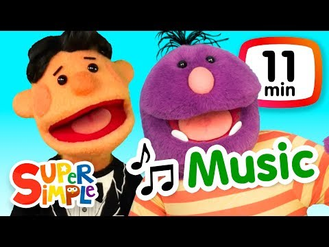 The Super Simple Show - Music | Cartoons For Kids